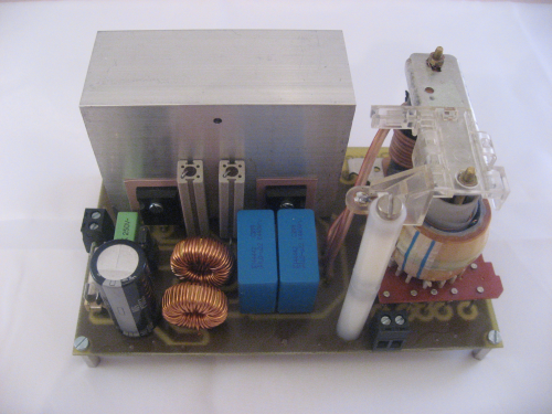 High Power High Voltage Generator v2.2 - AC output Mini-Tesla