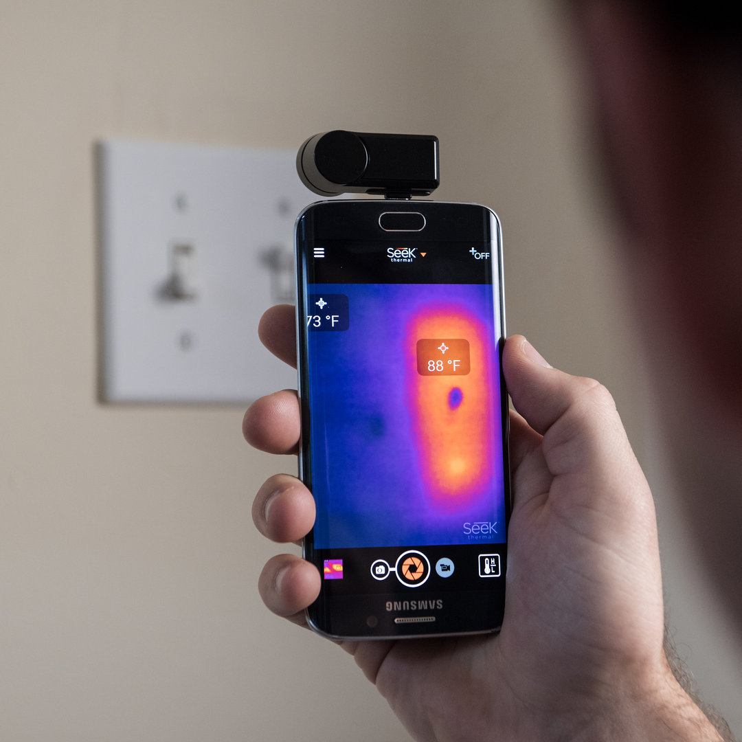 seek thermal compact imager  android waermebildkamera